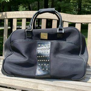 Diane Von Furstenberg Rolling Duffle Bag Black